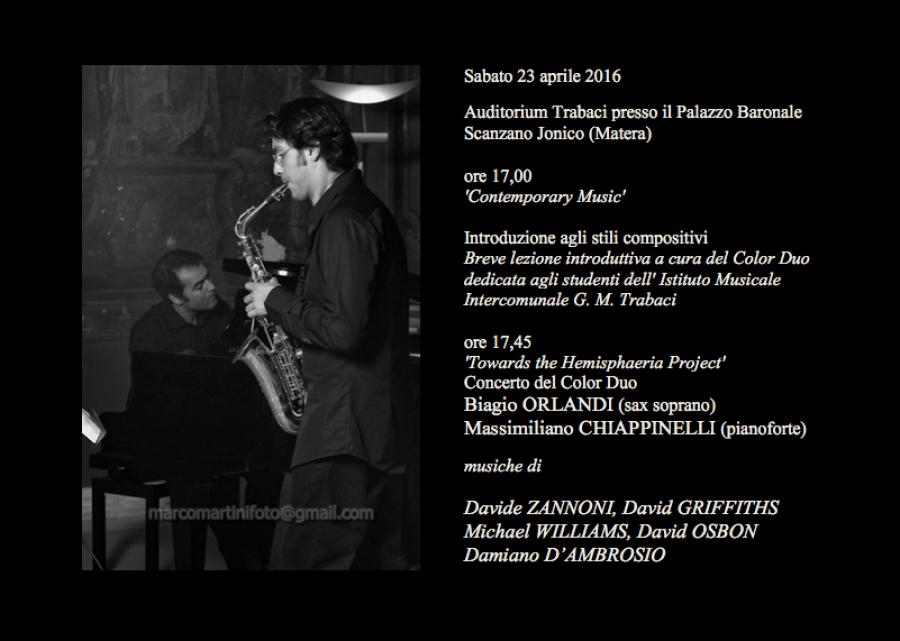 Concerto Scanzano 23 Aprile 17.05.16